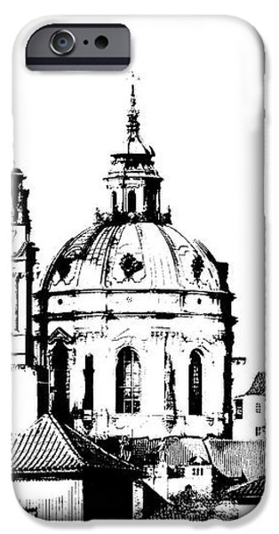 Church of St Nikolas iPhone Case by Michal Boubin