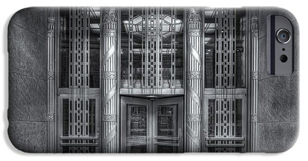 Us Postal Service iPhone Cases - Church Street Post Office II iPhone Case by Clarence Holmes