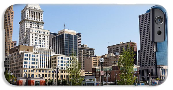 2012 iPhone Cases - Cincinnati Ohio Downtown City Buildings iPhone Case by Paul Velgos