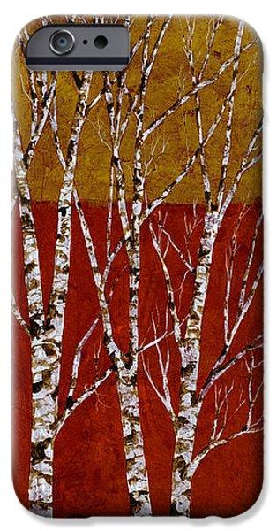 cinque betulle iPhone Case by Guido Borelli