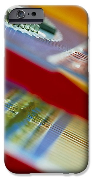 Circuits Used In Testing Microchip Functions iPhone Case by Chris Knapton