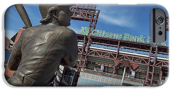 Pennsylvania Baseball Parks iPhone Cases - Citizans Bank Park iPhone Case by John Greim