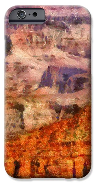 City - Arizona - Grand Canyon - Kabob Trail iPhone Case by Mike Savad