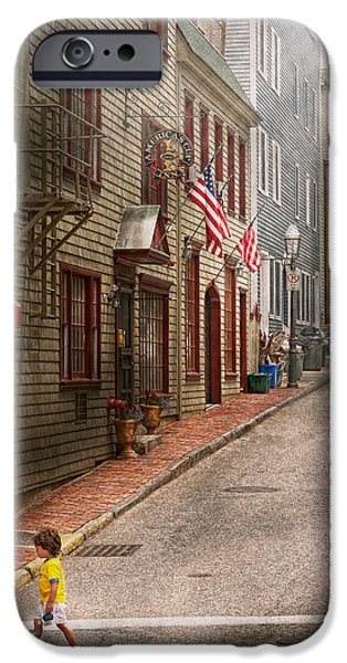 City - Rhode Island - Newport - Journey  iPhone Case by Mike Savad