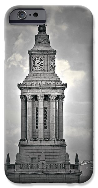 City and County of Denver building iPhone Case by Christine Till