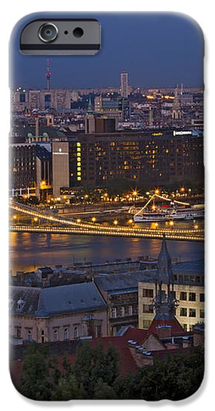 Cityscape iPhone Case by David Buffington
