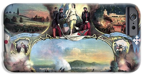 History iPhone Cases - Civil War 14th Regiment Memorial iPhone Case by War Is Hell Store