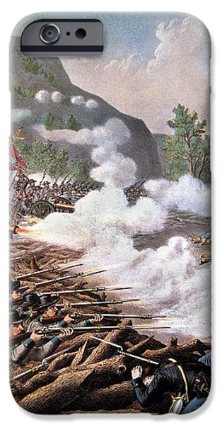 CIVIL WAR, 1864 iPhone Case by Granger
