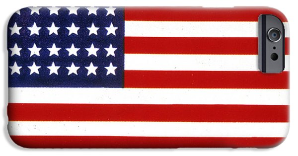 Old Glory iPhone Cases - Civil War Flag iPhone Case by Granger