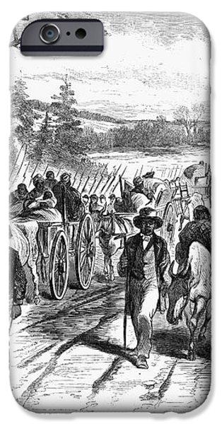 CIVIL WAR: FREEDMEN, 1863 iPhone Case by Granger