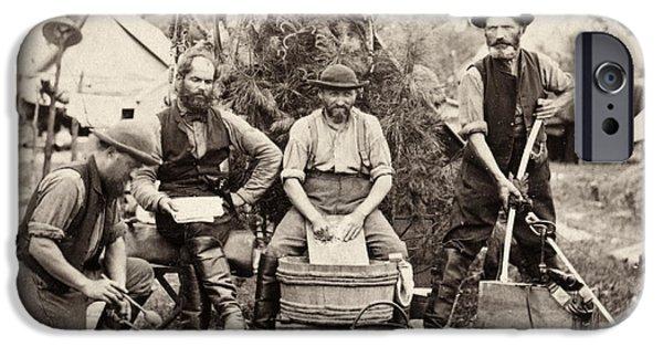 Yorktown Virginia iPhone Cases - Civil War: Servants, 1862 iPhone Case by Granger