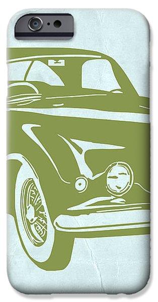 Classic Car iPhone Case by Naxart Studio