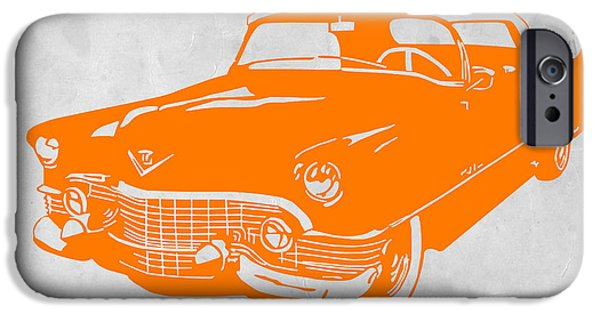 Modernism iPhone Cases - Classic Chevy iPhone Case by Naxart Studio