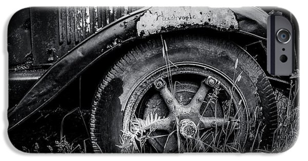 Old Trucks Photographs iPhone Cases - Classic International iPhone Case by Perry Webster