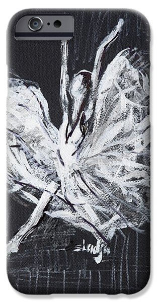 Ballet Dancers iPhone Cases - Classic iPhone Case by Sladjana Lazarevic