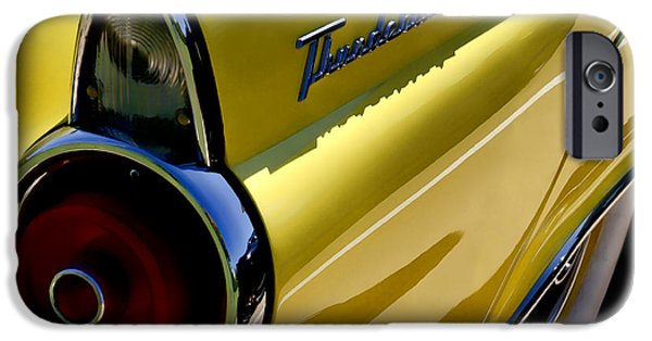 Tails iPhone Cases - Classic T-Bird Tailfin iPhone Case by Douglas Pittman