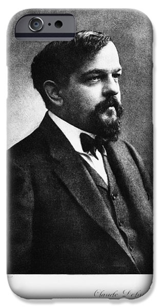 Claude Debussy, French Composer iPhone Case by Photo Researchers