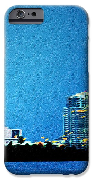 Clearwater at Night iPhone Case by Bill Cannon