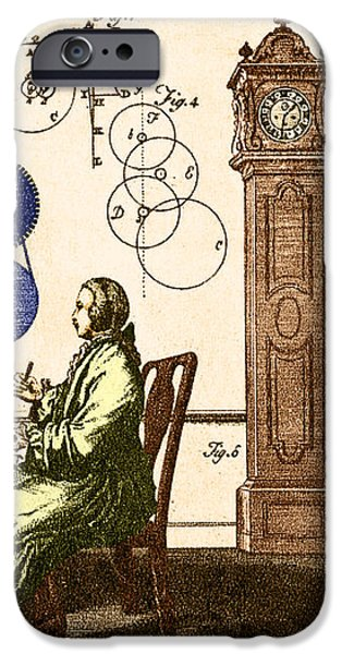 Clockmaker iPhone Case by Photo Researchers