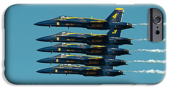 F-18 iPhone Cases - Cloning iPhone Case by Sebastian Musial