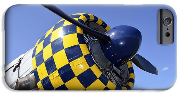 North American Aviation iPhone Cases - Close-up View Of The Propeller On An iPhone Case by Stocktrek Images