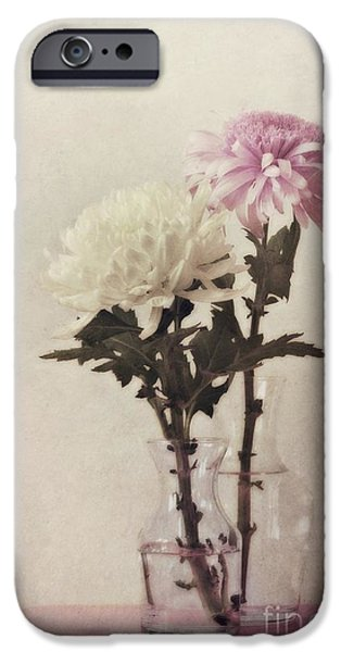 Floral Photographs iPhone Cases - Closely iPhone Case by Priska Wettstein