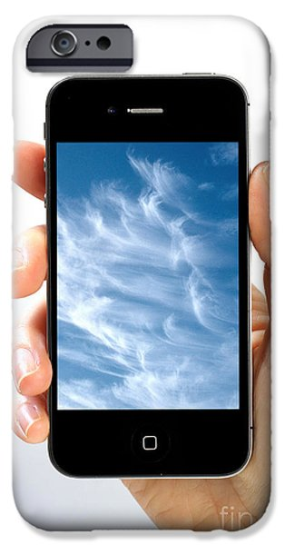 Cloud Computing iPhone Case by Photo Researchers