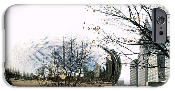 Ely Arsha iPhone Cases - Cloud Gate - 1 iPhone Case by Ely Arsha