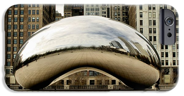 Ely Arsha iPhone Cases - Cloud Gate - 3 iPhone Case by Ely Arsha