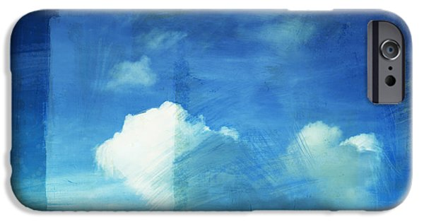 Nature Abstract iPhone Cases - Cloud Painting iPhone Case by Setsiri Silapasuwanchai