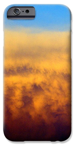 Clouds Ablaze iPhone Case by Marty Koch