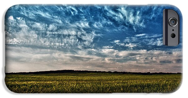 Agriculture iPhone Cases - Cloudscape iPhone Case by Stylianos Kleanthous