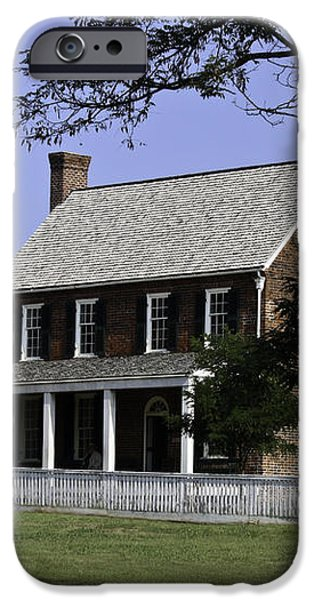 Clover Hill Tavern Appomattox Virginia iPhone Case by Teresa Mucha