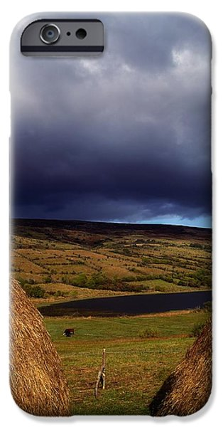 Co Cavan, Lake In West Cavan Mnts iPhone Case by The Irish Image Collection