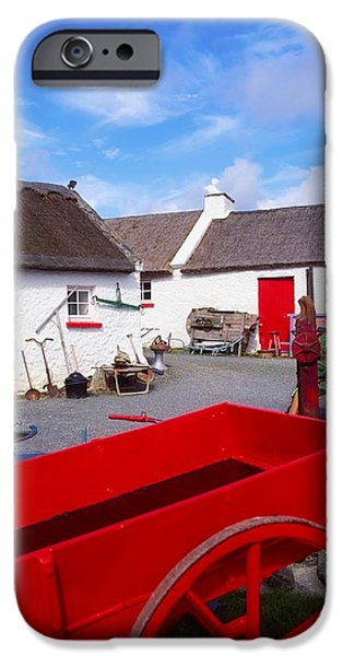 Co Donegal, Ireland Cottage Near iPhone Case by The Irish Image Collection