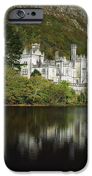 Co Galway, Kylemore Abbey iPhone Case by The Irish Image Collection
