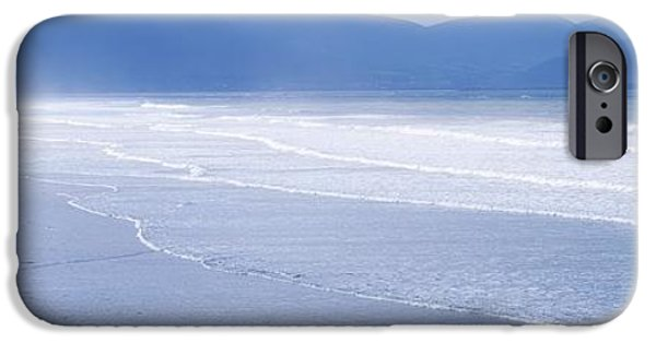 Monotone iPhone Cases - Co Kerry, Inch Beach, Ireland iPhone Case by The Irish Image Collection