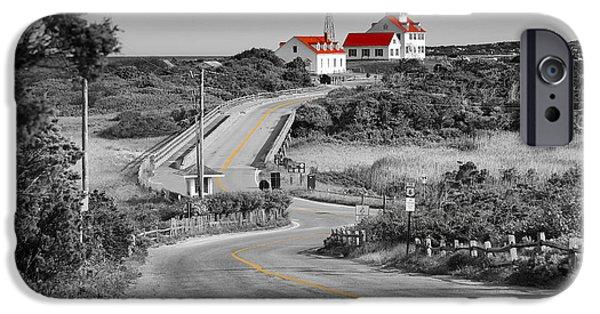 Cape Cod National Seashore iPhone Cases - Coast Guard Beach iPhone Case by Dapixara Art