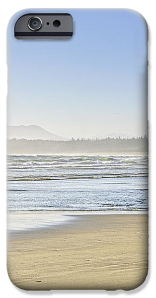 Coast of Pacific ocean on Vancouver Island iPhone Case by Elena Elisseeva