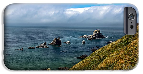 Seacapes iPhone Cases - Coastal Look iPhone Case by Robert Bales