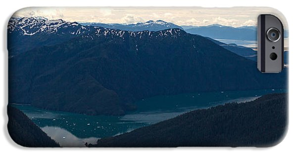 Norway iPhone Cases - Coastal Range Fjords iPhone Case by Mike Reid