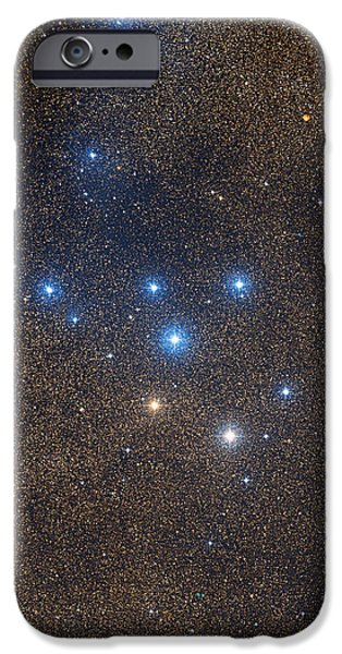 Coathanger Star Cluster iPhone Case by Celestial Image Co.