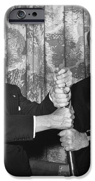 COBB & ROCKEFELLER, 1960 iPhone Case by Granger