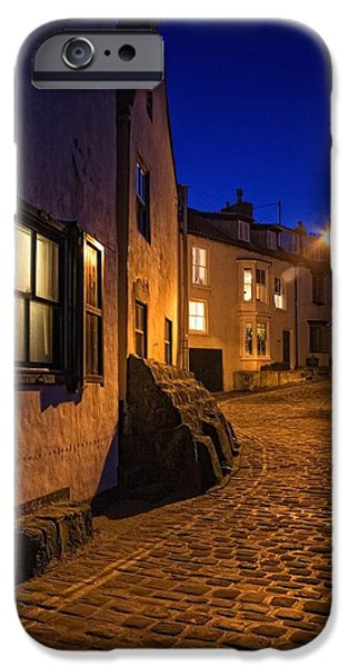 Cobblestone Road, North Yorkshire iPhone Case by John Short