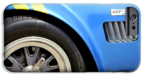 Carroll Shelby iPhone Cases - Cobra Classic iPhone Case by Karyn Robinson
