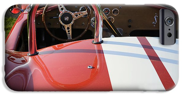 Carroll Shelby iPhone Cases - Cobra iPhone Case by Luke Moore