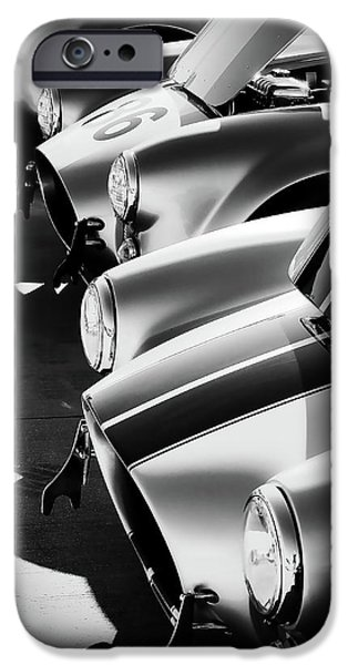 Silver iPhone Cases - Cobra Pit iPhone Case by Douglas Pittman