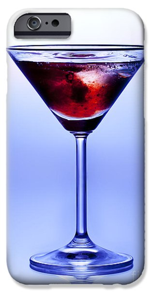 Nightclub iPhone Cases - Cocktail iPhone Case by Jane Rix