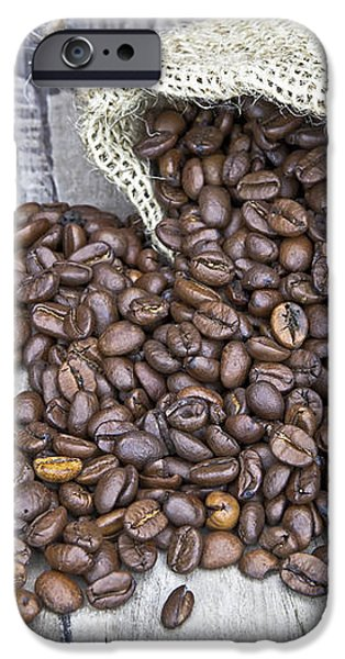 Coffee beans iPhone Case by Joana Kruse
