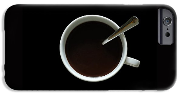 Geometrical iPhone Cases - Coffee Cup iPhone Case by Frank Tschakert